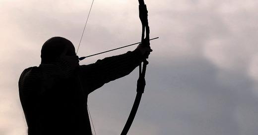 Bogenschießen, Schütze, Jäger, © Pixabay