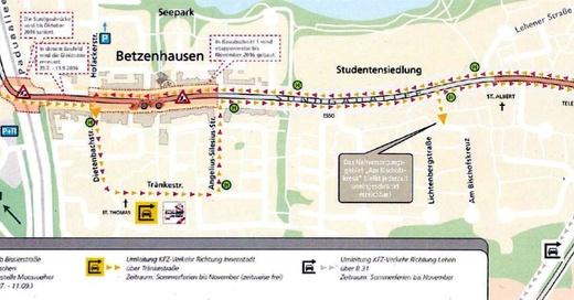 Sundgauallee, Betzenhausen, © Garten- und Tiefbauamt Freiburg