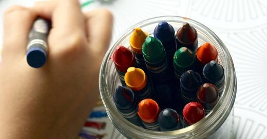 Kita, Kinderbetreuung, Buntstift, © Pixabay