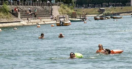 rhein, dlrg, schwimmen, basel, weil am rhein, © baden.fm