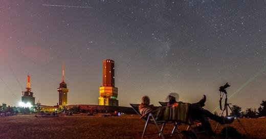 Sternschnuppe, Nachthimmel, © Jan Eifert - dpa