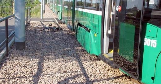 Straßenbahn, Unfall, Weil am Rhein, © Polizeipräsidium Freiburg