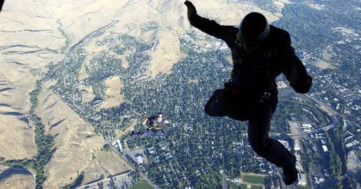 Fallschirmspringen, Fallschirm, © Pixabay