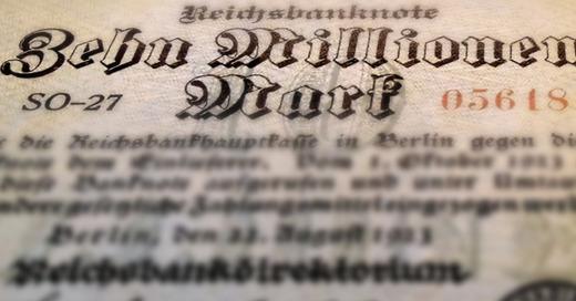 Reichsmark, Notgeld, Inflation, © Pixabay