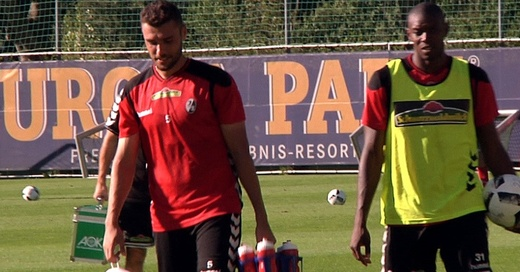 Karim Guede, Manuel Gulde, SC Freiburg, © baden.fm