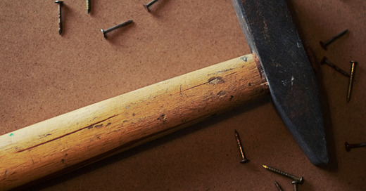 Werkzeug, Hammer, Nagel, © Pixabay