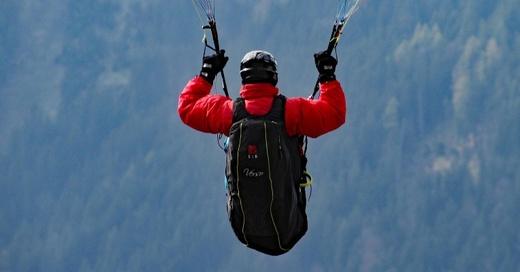 Fallschirm, Gleitschirm, Extremsport, © Pixabay