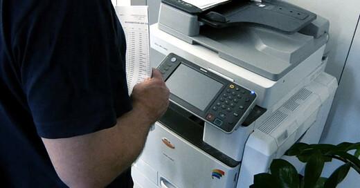 Drucker, Büro, Scanner, Arbeit, © baden.fm
