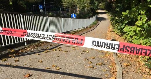 Polizei, Absperrung, Dreisam, © baden.fm