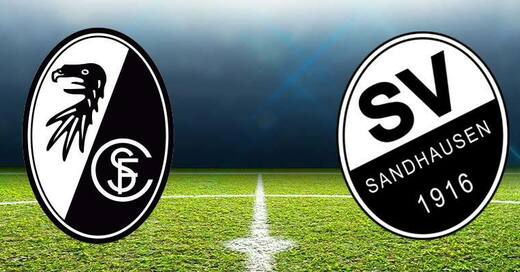 SC Freiburg, SV Sandhausen, DFB, Pokal, Fußball