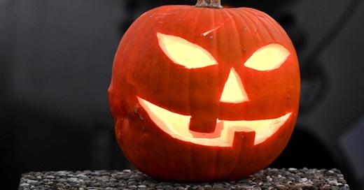 Halloween, Kürbis, Gruseln, © Felix Kästle - dpa