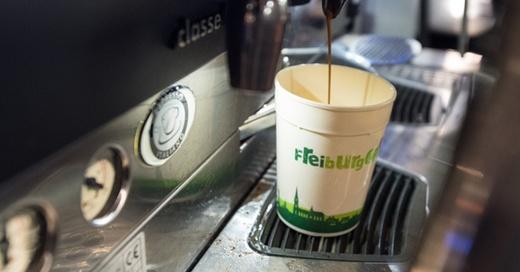 Kaffee, Becher, To Go, Mehrweg, Freiburg Cup, © Patrick Seeger - dpa