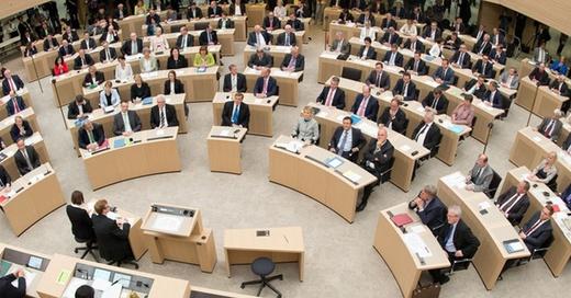 Landtag, Stuttgart, Baden-Württemberg, © Bernd Weißbrod - dpa