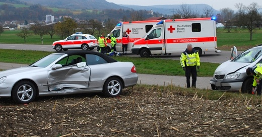 Küssaberg, Unfall, © Polizeipräsidium Freiburg