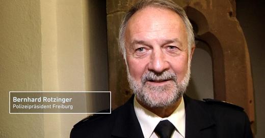 Bernhard Rotzinger, Polizeipräsident, Freiburg, © baden.fm