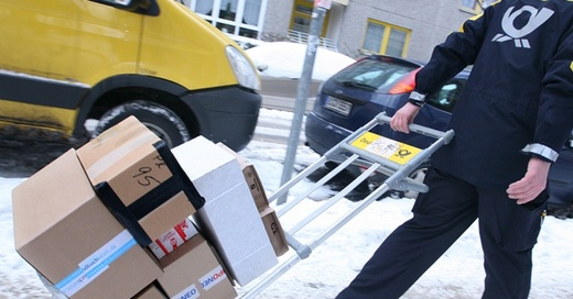 DHL, Deutsche Post, Paket, © Stephanie Pilick - dpa