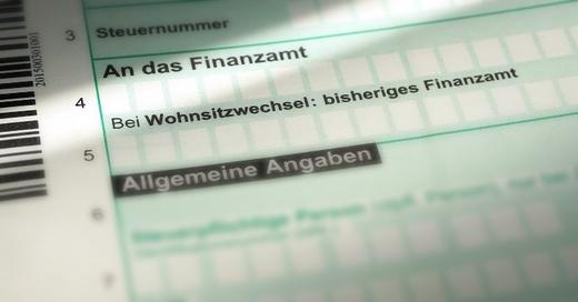 Finanzamt, Vordruck, Steuern, © Pixabay