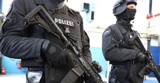 Polizei, BFE, SEK, © Christian Charisius - dpa