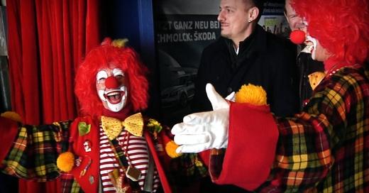 Circolo, Benefiz, Glücksmomente, Clowns, © baden.fm