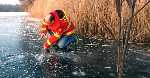 Eisfläche, Eis, DLRG, © baden.fm