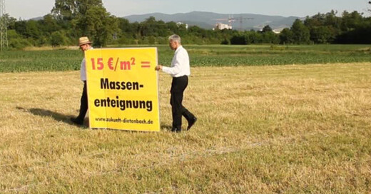 Dietenbach, Grundstück, Eigentümer, Stadtteil, © baden.fm