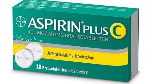 Aspirin Plus C, Schmerzmittel, Medikament, © Bayer Vital GmbH