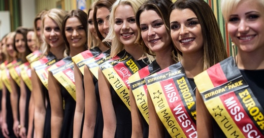 Miss Germany, Europa Park, Schönheitskönigin, © Patrick Seeger - dpa