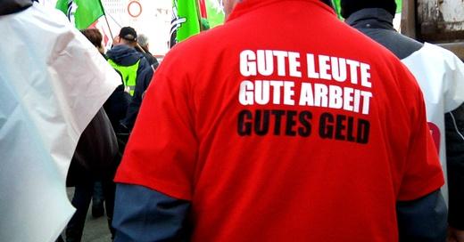 Streik, Warnstreik, Gewerkschaft, Demo, Geld, © baden.fm