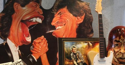 Rolling Stones, Sammlung, Uni Freiburg, © Sandra Meyndt - Uni Freiburg