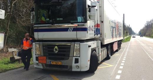 Gefahrguttransport, Muttenz, © Polizei Basel-Landschaft