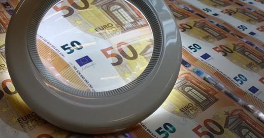 Fünfziger, Euro, Geldschein, © Europäische Zentralbank