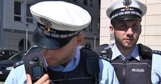 Polizei, Bodycam, Freiburg, © baden.fm