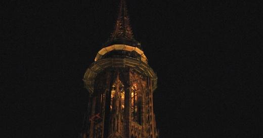 Münster, Freiburg, Nacht, Beleuchtung, © baden.fm