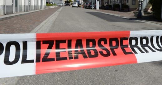 Polizeiabsperrung, Waldshut-Tiengen, © Patrick Seeger - dpa