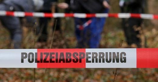 Polizei, Absperrung, Suchaktion, © Bernd Wüstneck - dpa (Symbolbild)
