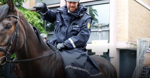 Polizei, Pferd, Reiterstaffel, © Polizeipräsidium Freiburg
