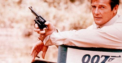 Sir Roger Moore, James Bond, Schauspieler, © AP / dpa