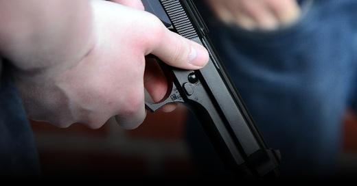 Schusswaffe, Pistole, Überfall, © Pixabay (Symbolbild)