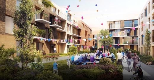 Metzgergrün, Wohnungen, Architektur, © Dietrich Untertrifaller Architekten