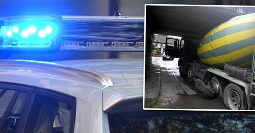 Lottstetten, Lastwagen, Unfall, © Polizeipräsidium Freiburg