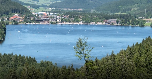 Titisee-Neustadt, Titisee, Panorama, Schwarzwald, © Patrick Seeger - dpa