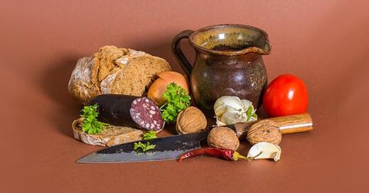 Vesper, Vesperplatte, Wurst, Bauernbrot, Sölden, Schlachtfest, © pixabay.com