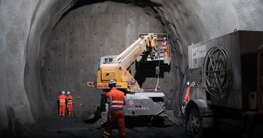 Tunnel, Sprengung, Baustelle, © Pixabay (Symbolbild)
