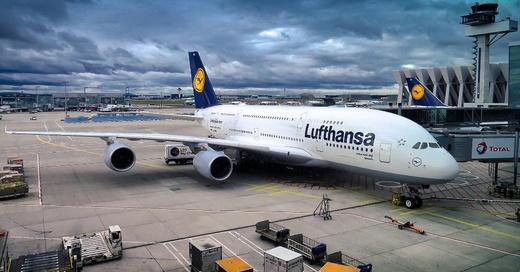 Flugzeug, Airbus, Flughafen, Lufthansa, © Pixabay (Symbolbild)