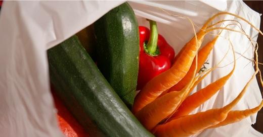 Einkaufstüte, Obsttüte, Plastikbeutel, Plastiktüte, Einkaufstasche, © pixabay (Symbolbild)