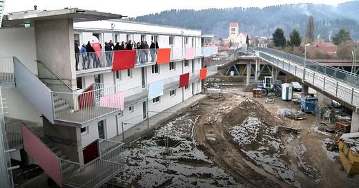 Flüchtlinge, Flüchtlingsunterkunft, Freiburg, © baden.fm