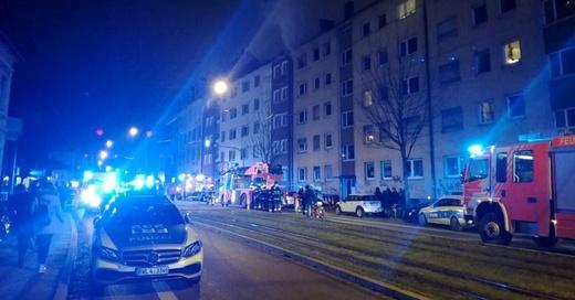 Brand, Feuerwehr, Habsburgerstraße, Freiburg, © baden.fm