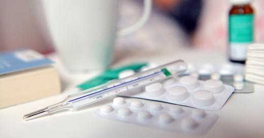 Erkältung, Grippe, Medikamente, © Maurizio Gambarini - dpa (Symbolbild)