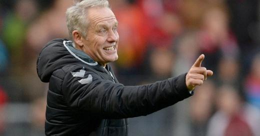 Christian Streich, SC Freiburg, Trainer, © Patrick Seeger - dpa