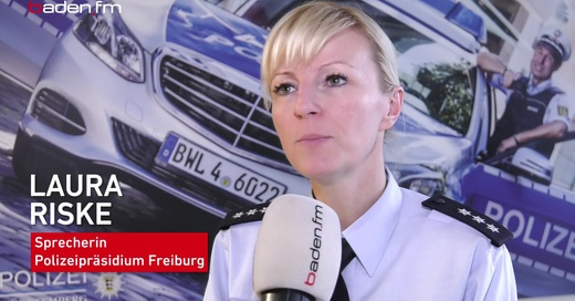 Thumbnail, Laura Riske, Polizei, Freiburg, © baden.fm